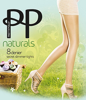 Pretty Polly Naturals Secret Slimmer Tights Image