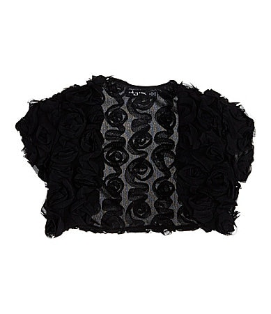Ruby Rox 7-16 Rosette Soutache Shrug