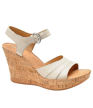 Born Issa Wedge Sandals