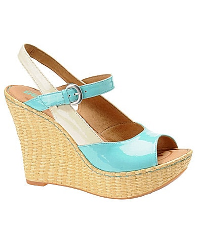 Born Mina Wedge Sandals