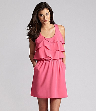 Gianni Bini Pablo Tiered Dress