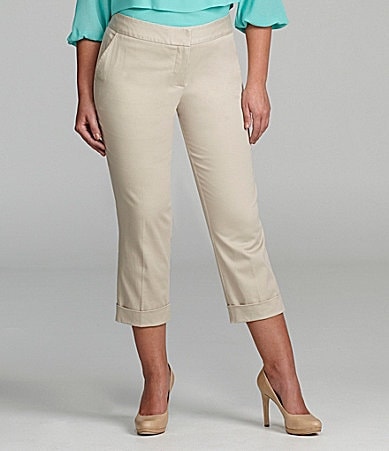 M.S.S.P. Woman Cropped Skinny Pants
