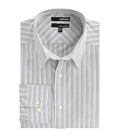 Murano Big & Tall Ultimate Modern Comfort Stripe Sportshirt