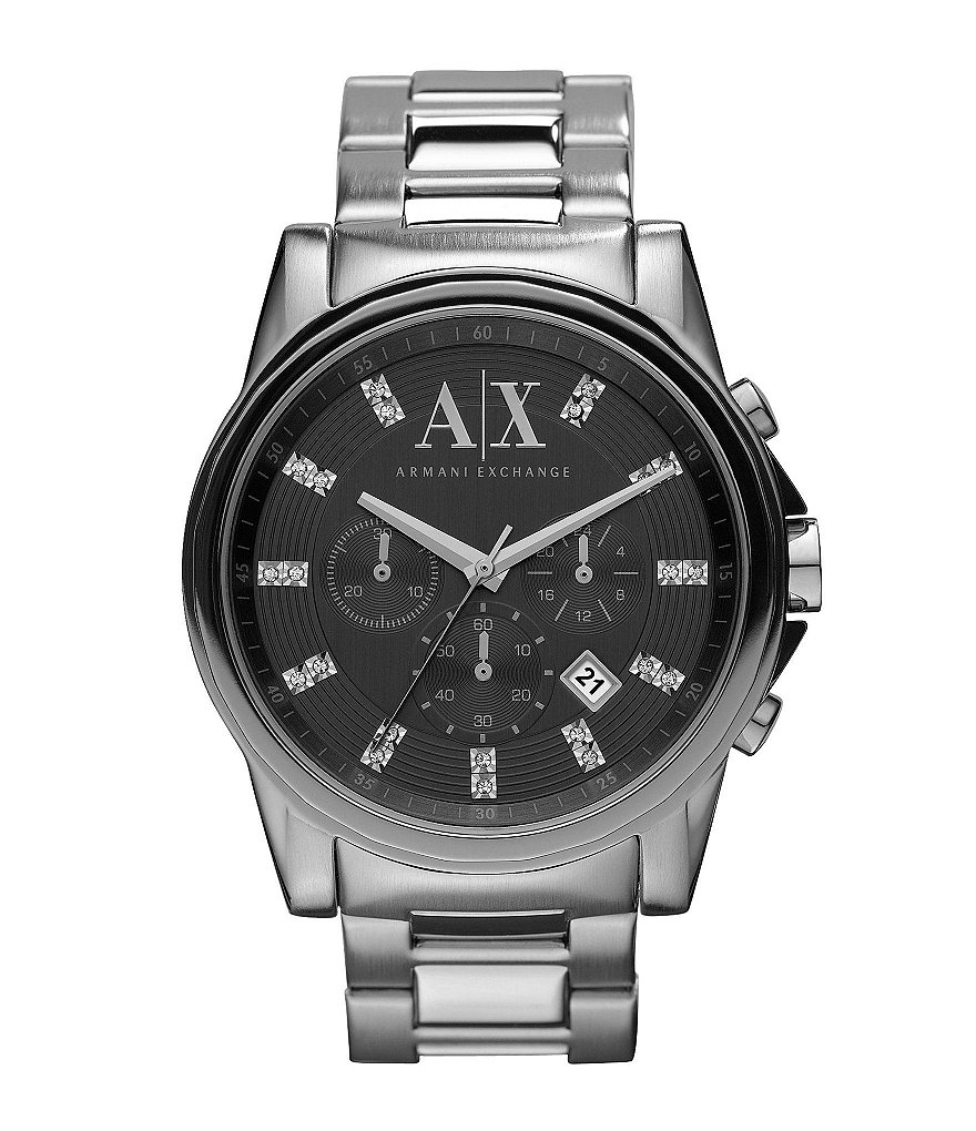 AX Armani Exchange Men´s Stainless Steel Smart Chronograph Watch