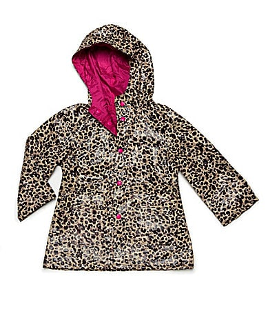 Capelli New York 4T-8 Leopard Hoodie Rain Slicker