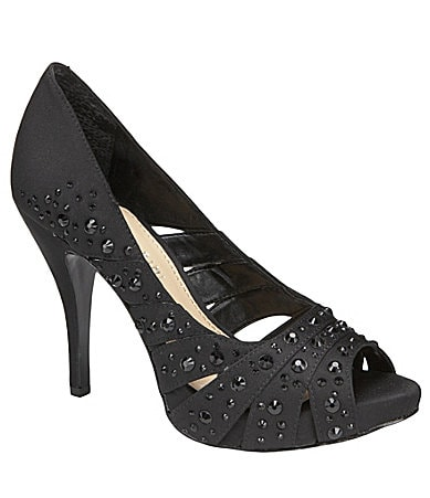 Gianni Bini Anna Peep-Toe Pumps