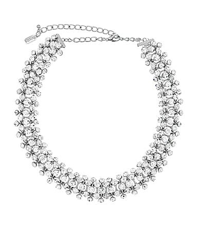 Natasha Accessories All Around Crystal Collar Necklace