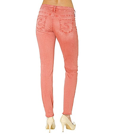Silver Jeans Co. Aiko Colored Skinny Jeans
