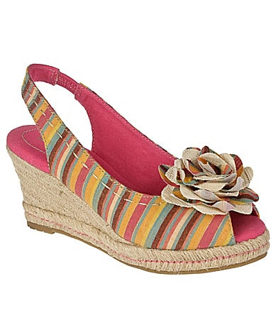 Naturalizer Bibi Espadrille Wedge Sandals