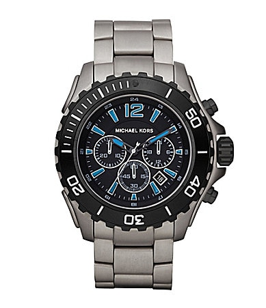 Michael Kors Drake Black Dial Chronograph Watch