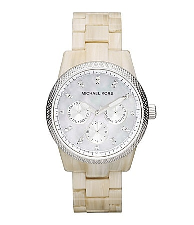Michael Kors Ritz Horn Chronograph Watch
