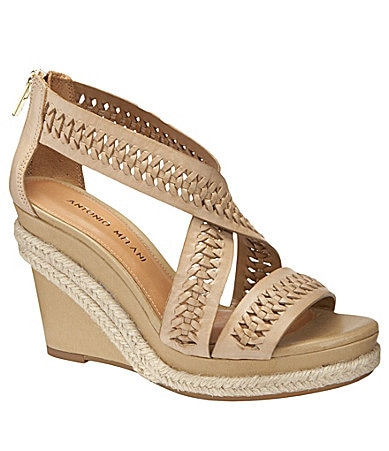 Antonio Melani Covell Platform Wedge Sandals
