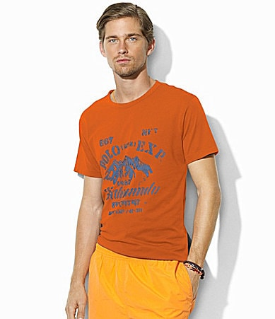 Polo Ralph Lauren Classic-Fit Graphic Tee