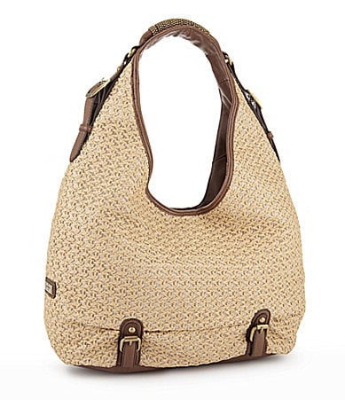 Jessica Simpson Obsession Straw Hobo