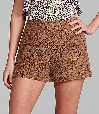 Gianni Bini Lynda Lace Shorts