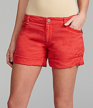 Gianni Bini Dolly Roll-Cuff Shorts