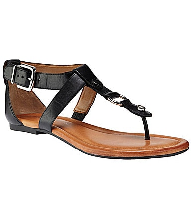 Antonio Melani Case T-Strap Sandals