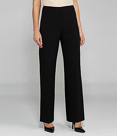 Tahari by ASL Separates Classic Straight-Leg Pants