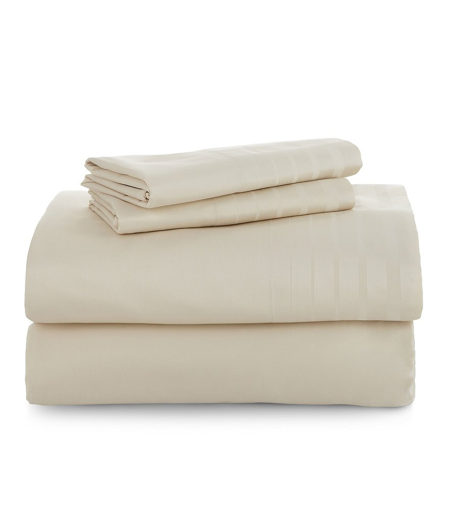 Luxury Hotel 700-Thread-Count Cotton Sateen Sheet Set
