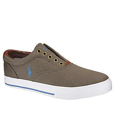 Polo Ralph Lauren Men�s Vito Laceless Slip-On Sneakers