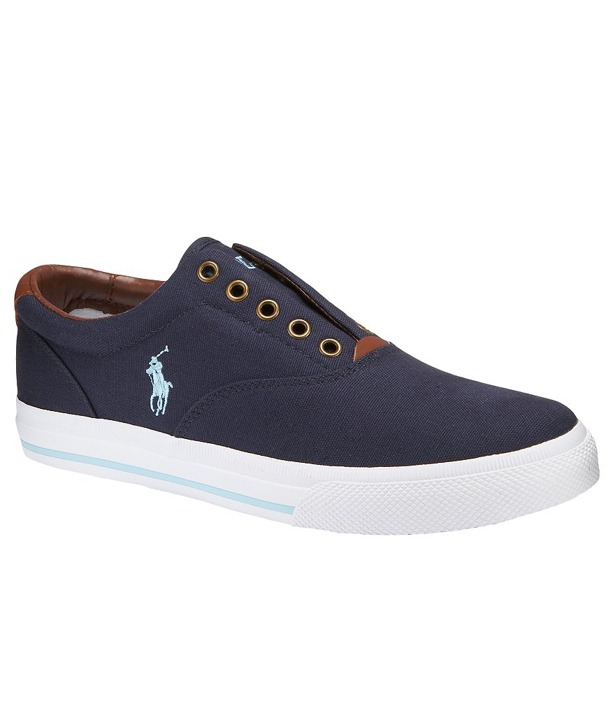 Polo Ralph Lauren Men's Vito Laceless Slip-On Sneakers