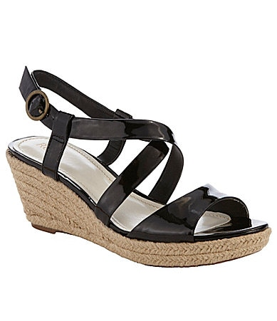 Reba Women�s Adept Low-Heel Sandals