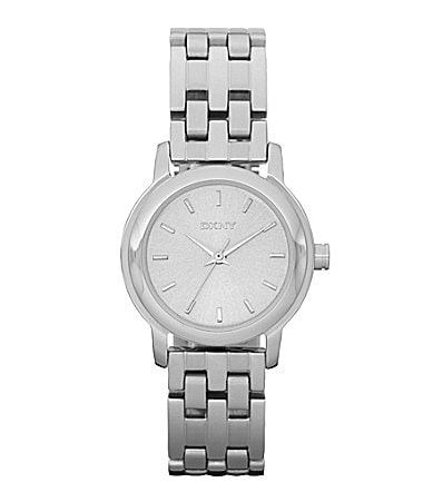 DKNY Essentials Ladies Silvertone Dress Watch