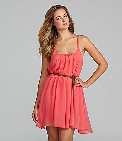 Sanctuary Clothing Sand Pleated Sundress