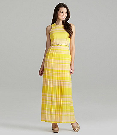 French Connection London Rock Pleated Maxi Dress