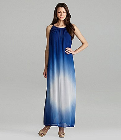 French Connection Sun Gaze Tie-Dye Maxi Dress