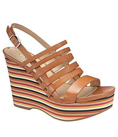 Via Spiga Ester Wedge Sandals