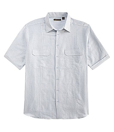 Cubavera Big & Tall 2-Pocket Sportshirt