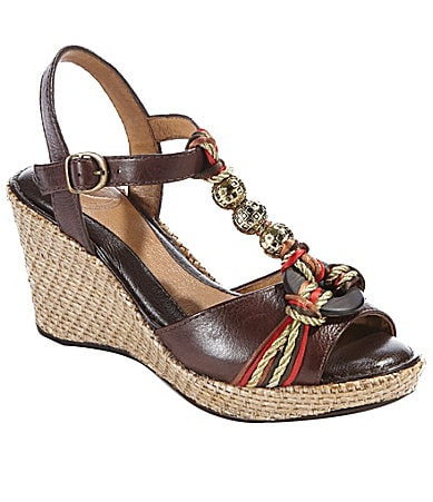 Nurture Cayman Wedge Sandals