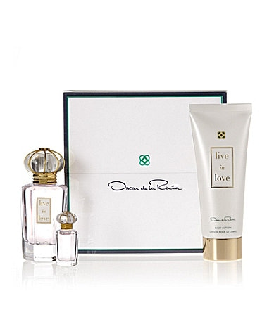 Oscar de la Renta Live in Love Gift Set