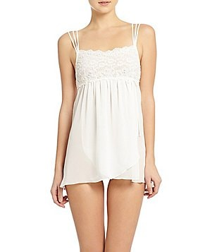 In Bloom by Jonquil Lace and Chiffon Bridal Babydoll