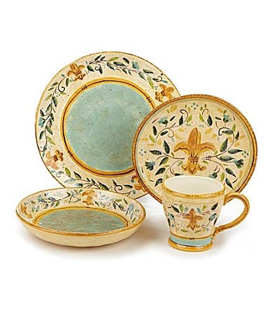 Certified International Tuscan Fleur Dinnerware
