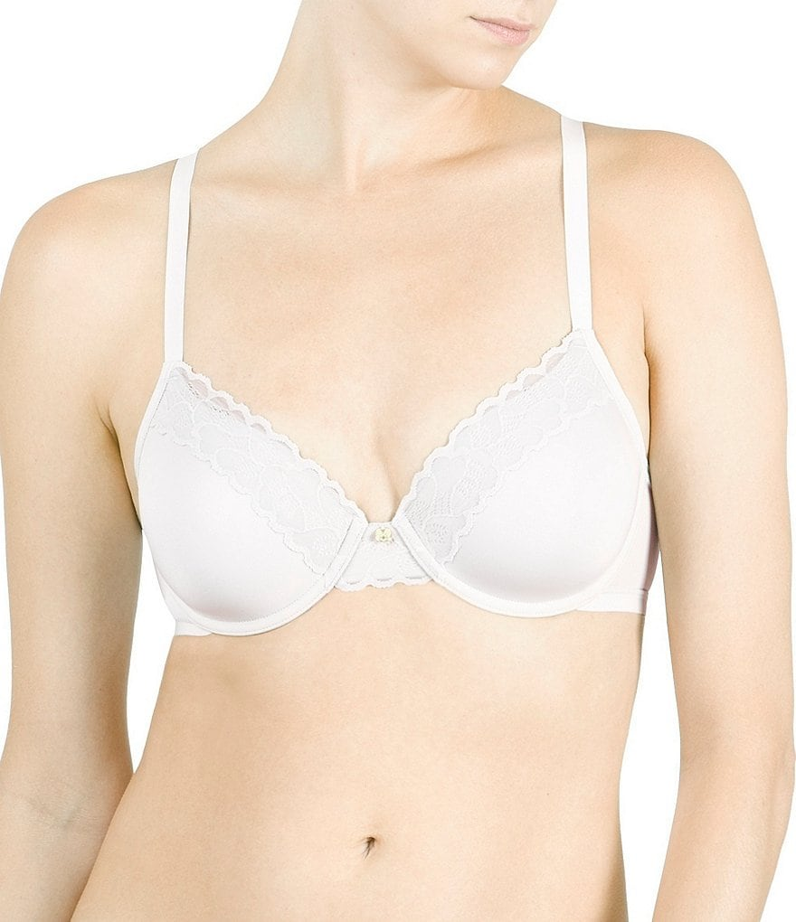 Natori Hidden Glamour Full-Fit Lace-Trimmed Contour Underwire Bra