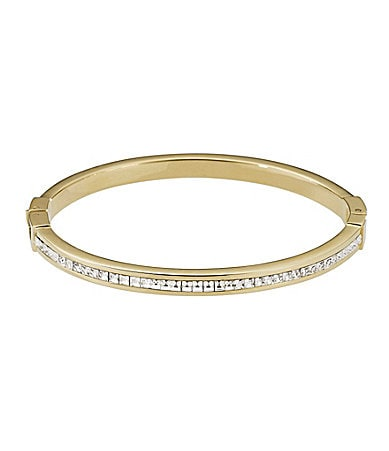 Michael Kors Thin Crystal Bangle Bracelet