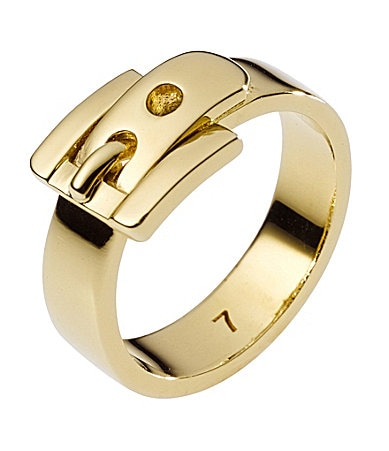 Michael Kors Buckle Ring