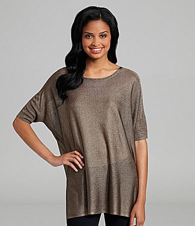 Eileen Fisher Ballet-Neck Tunic
