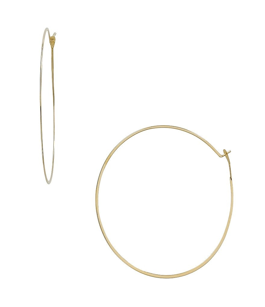 Michael Kors Whisper Delicate Hoop Earrings