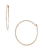 Michael Kors Whisper Hoop Earrings