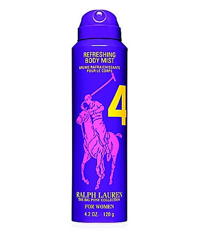Ralph Lauren Fragrances Big Pony For Her Purple #4 Refreshing Body Mist