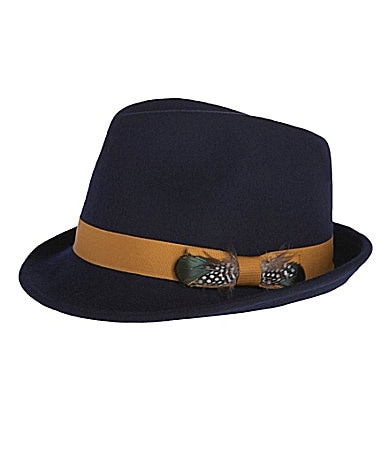 Dillard's Fedora http://www.dillards.com/product/Kate-Landry-Feather-Fedora_301_-1_301_503419187