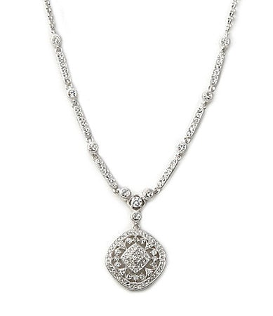 Nadri Gardenia Y-Necklace