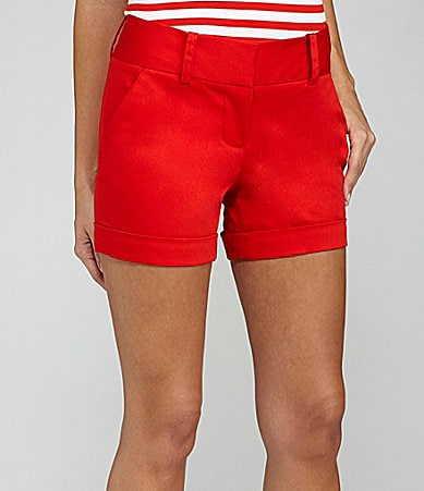 Vince Camuto Colored Cuffed Shorts