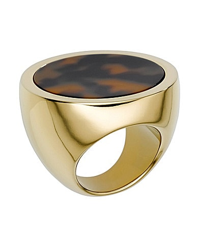 Michael Kors Tortoise Slice Ring