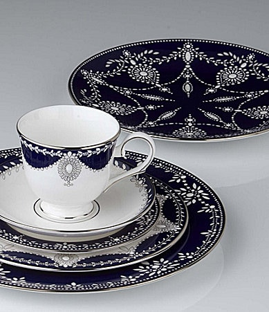 Marchesa by Lenox Empire Pearl Indigo China