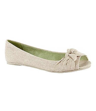 Blowfish Women�s Sima Peep-Toe Flats
