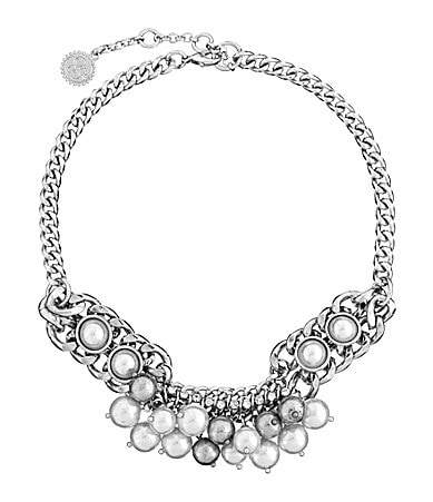 Jessica Simpson Delicate Flowers Choker Necklace